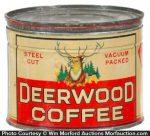 Deerwood Coffee Tin