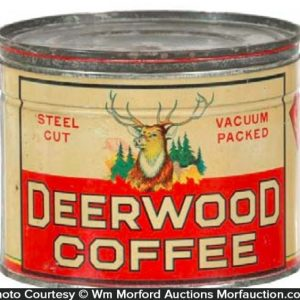 Deerwood Coffee Tin