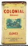 Colonial Spice Tin