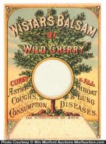 Wistar's Balsam Of Cherry Match Scratcher