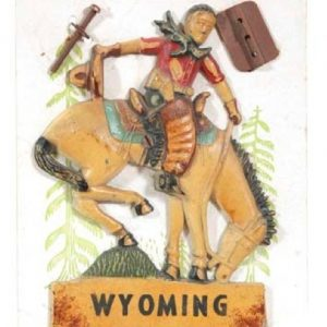 Wyoming Radiator Ornament