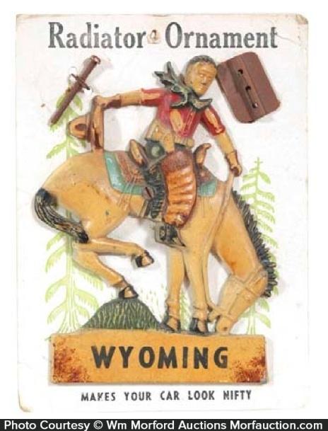 Wyoming Radiator Ornament
