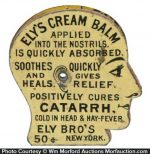 Ely's Cream Catarrh Balm Pin Holder