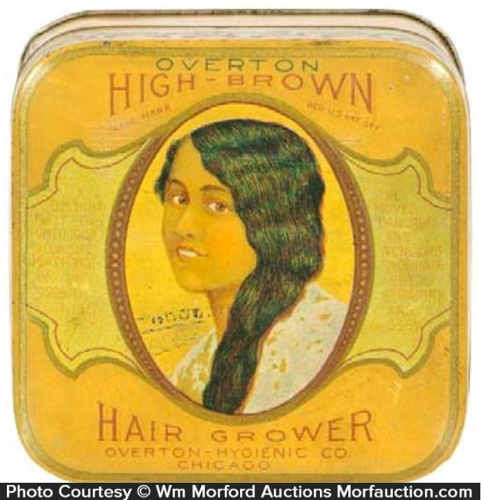 High-Brown Hair Grower Tin