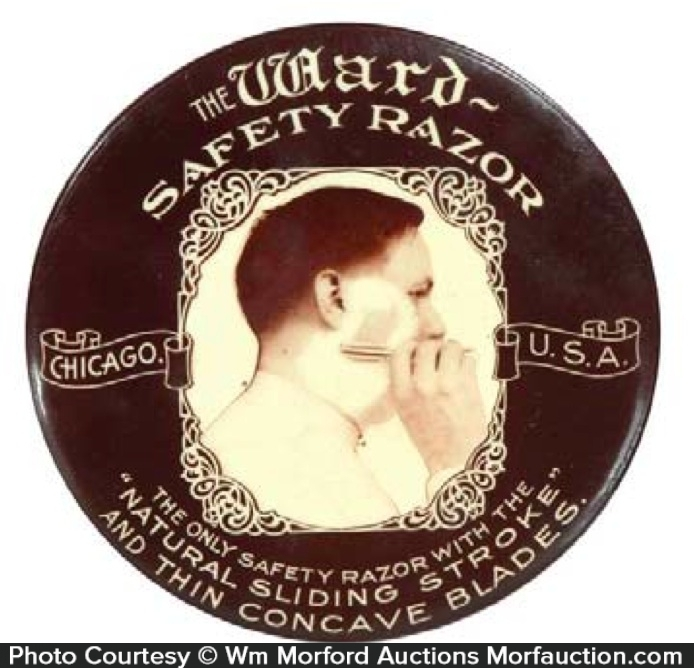 Ward Safety Razor Mirror