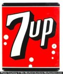 7Up Porcelain Sign