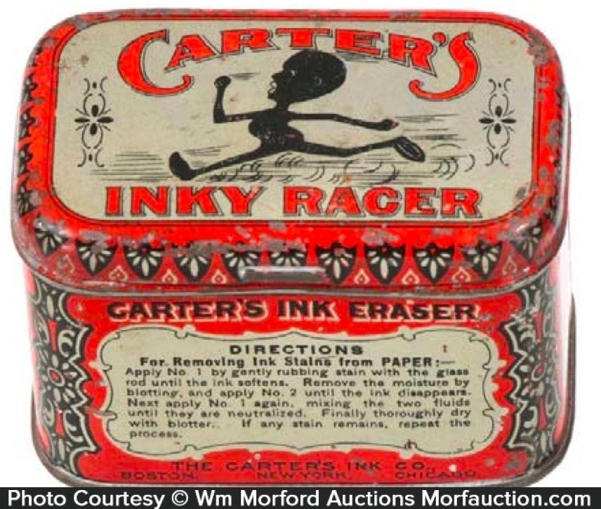 Carter's Inky Racer Tin