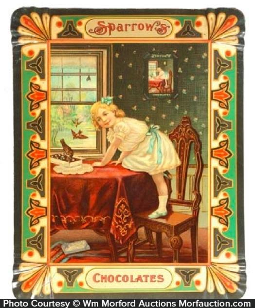 Sparrow Chocolates Tray