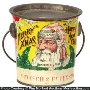 Christmas Candy Pail