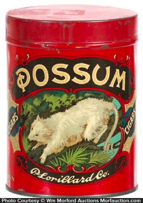 Possum Cigar Tin