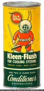 Whiz Kleen-Flush Tin