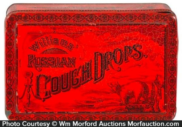Russian Cough Drops Tin