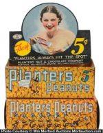 Planters Peanuts Display Box