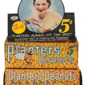 Planters Peanuts Display Box
