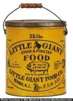 Little Giant Stock Food Pail