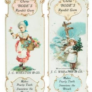 Boke's Rarebit Gum Bookmarks