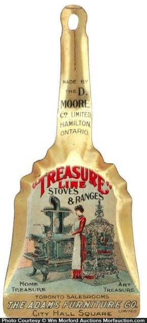 Treasure Line Stoves Sign