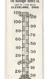 United Motors Thermometer