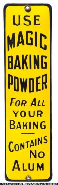 Magic Baking Powder Door Push
