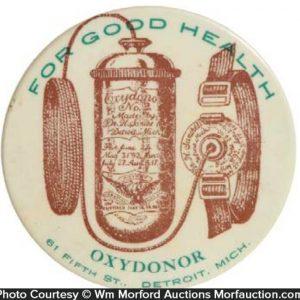 Oxydonor Pocket Mirror