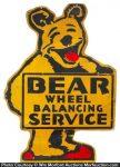 Bear Service Station Sign