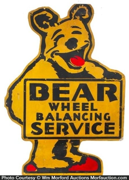 Bear Service Station Sign