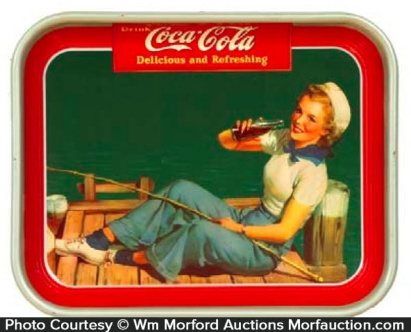 1940 Coke Tray