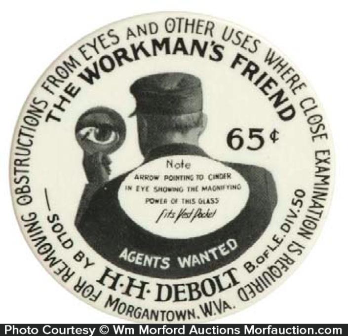 Workman's Friend Pocket Mirror