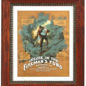 Fireman's Fund Insurance Sign