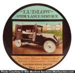Ludlow Ambulance Paperweight Mirror