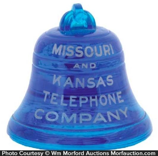 Missouri and Kansas Telephone Paperweight