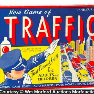 Traffic Board Game