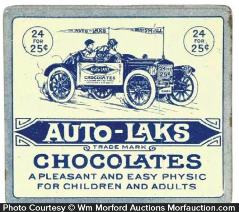 Auto-Laks Chocolate Tin