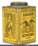 Barrus Mustard Tin