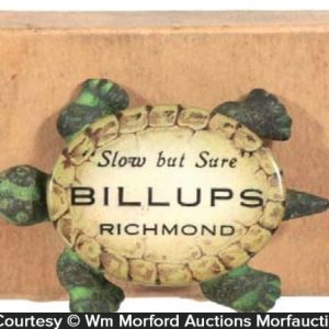 Billups Advertising Turtle