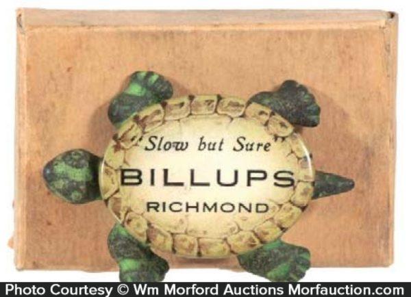 Billups Advertising Turtle