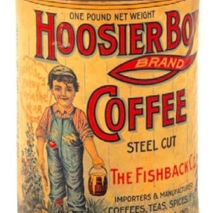 Hoosier Boy Coffee Tin