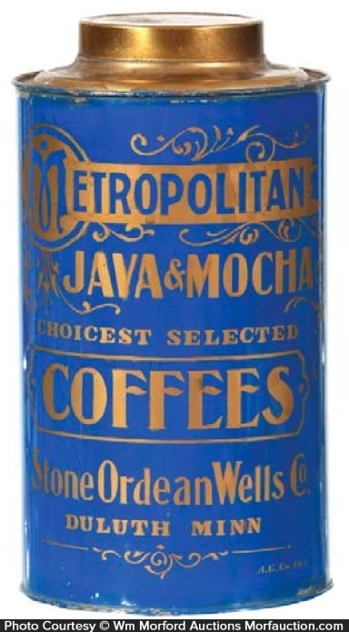 Metropolitan Coffee Can