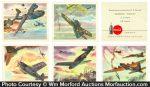 Coca-Cola Fighter Plane Cards
