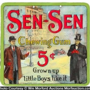Sen-Sen Chewing Gum Sign