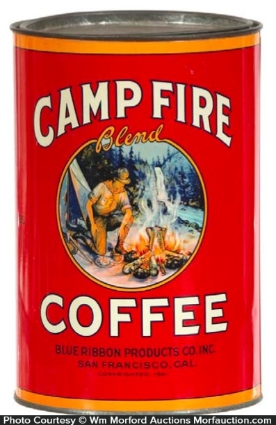 Camp Fire Coffee Can