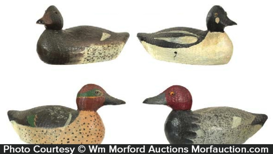 Salesman's Sample Duck Decoys