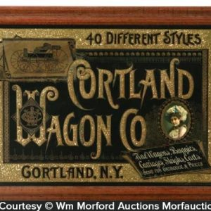 Cortland Wagon Sign