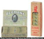 Beeman's Pepsin Gum Display
