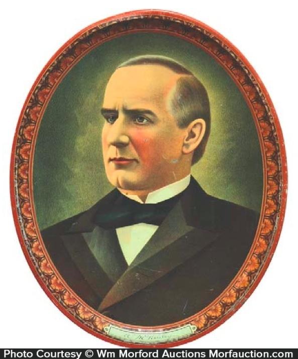 William Mckinley Tray