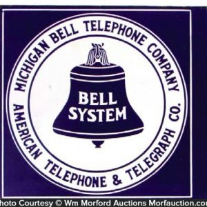 Michigan Bell Telephone Sign