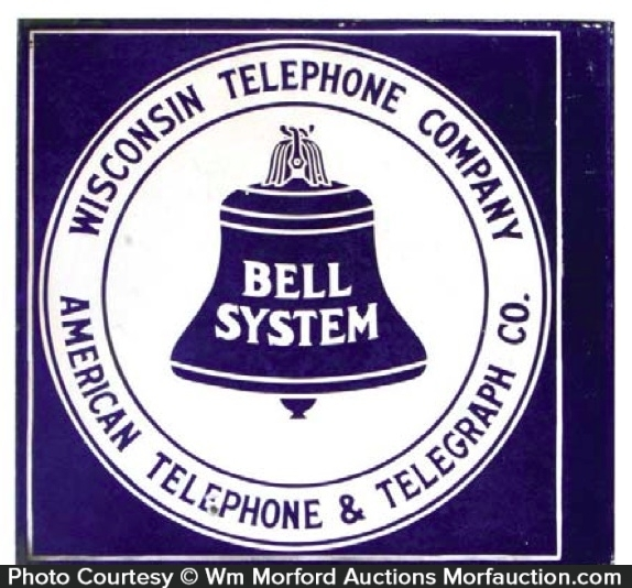 Wisconsin Bell Telephone Sign