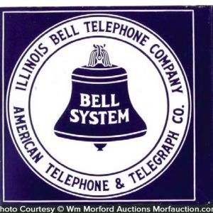 Illinois Bell Telephone Sign