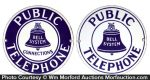 Bell Public Telephone Signs