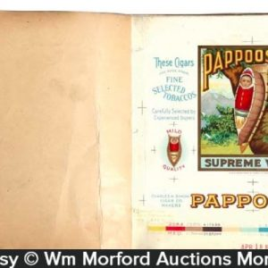 Pappoose Cigar Label Proof Book
